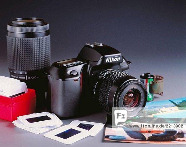 Reflex Kamera  Nikon F70  35 mm