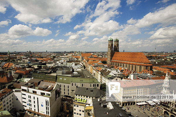 Germany  Bavaria  Overview of Munich