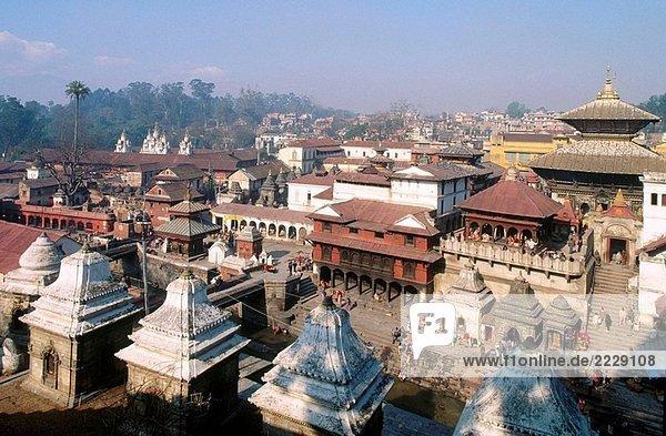Nepal. Kathmandu Region. Pashupatinath