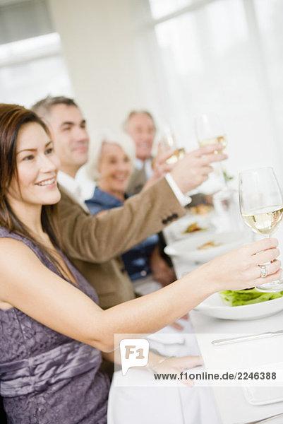Freunde zu Restaurant der
