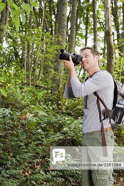 Mann nehmen photographie