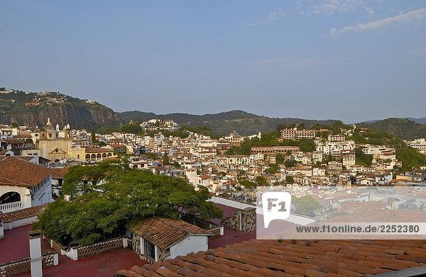 Luftbild von Stadt  Taxco  Mexiko