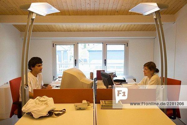 Büros  Neiker Tecnalia  Instituto de Investigación y Desarrollo Agrario  Ganadero  Forestal y del Medio Natural  Derio  Bizkaia  Baskenland  Spanien
