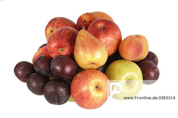 Vielfalt der Früchte  Nahaufnahme