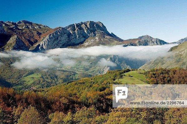 San Juan de Beleño  Ponga. Asturias. Spanien San Juan de Beleño, Ponga. Asturias. Spanien
