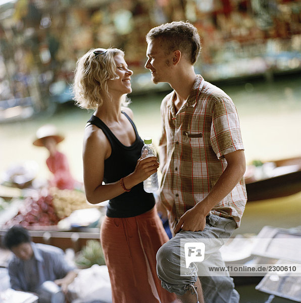 junges Paar Thailand