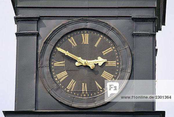 Uhrturm Nahaufnahme