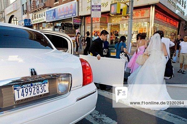 Chinatown  Downtown Manhattan. NYC  USA