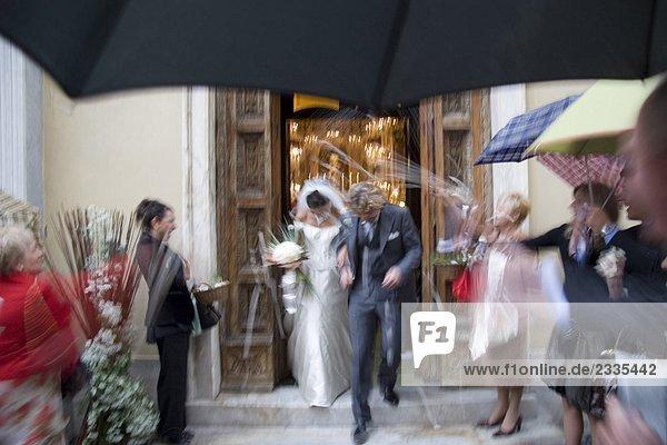 Hochzeit  Braut  Bräutigam  Zeremonie