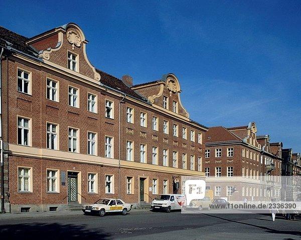 Entwicklung Wohnsiedlung Barock Havel Brandenburg Deutschland Potsdam wohngebäude