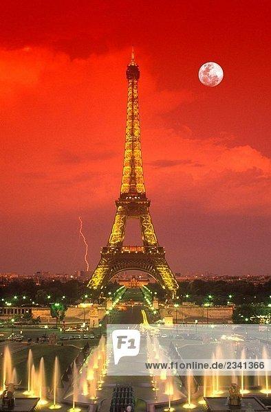 Eiffel tower Paris Frankreich