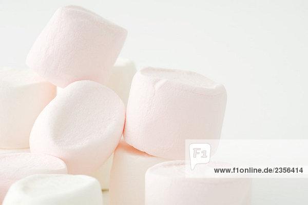 Marshmallows  close-up