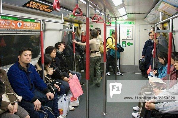 U-Bahn MTR Hong Kong  Hong Kong  China