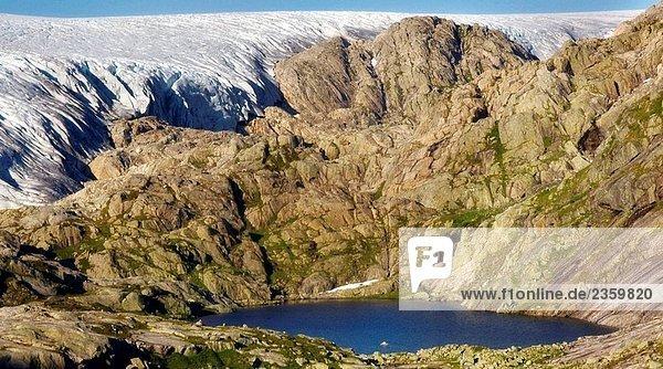 Gletscher  Norwegen Gletscher, Norwegen