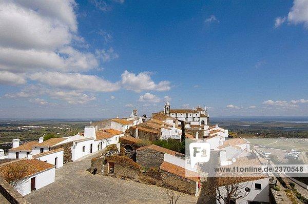 Monsaraz  fortified medieval village. Alto Alentejo  Portugal