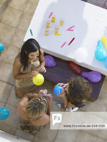 Einrichten einer Party