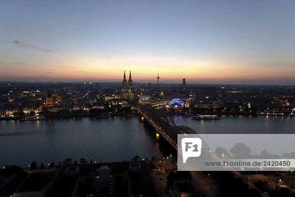 Germany  Cologne  The Cathedral in background