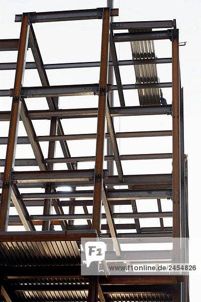Ich Balken Gebäude im Bau nur mit Stahl