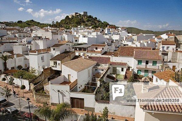 Monda. Malaga province  Andalucia  Spain