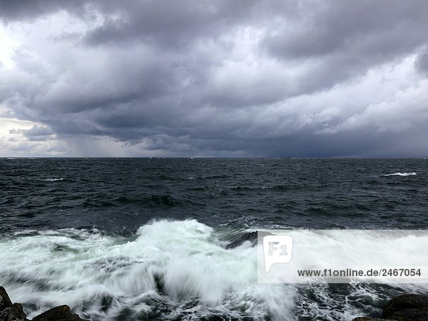 Wasserwelle Welle Meer