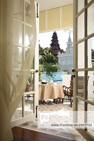 Kolonialstil Suite im Mandarin Oriental Dhara Dhevi  Chiang Mai  Thailand