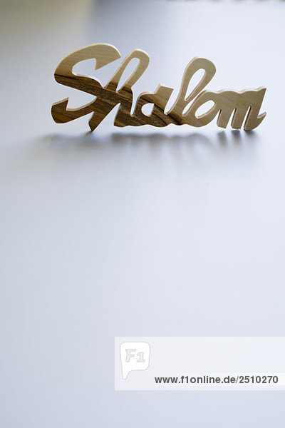 Shalom sign Shalom sign