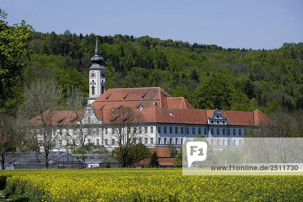 Germany  Bavaria  Benedictine cloister Schäflarn