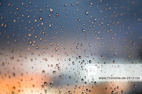 Wassertropfen Fenster im Bereich Wassertropfen Fenster im Bereich