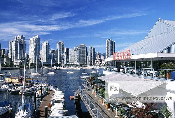 False Creek Marina  Vancouver  British Columbia.