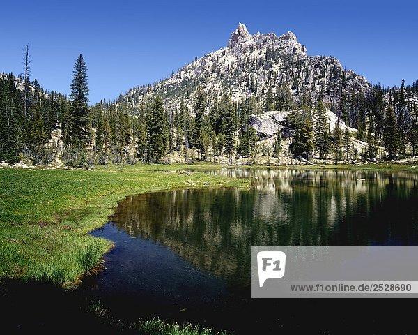 Alpensee  Sägezahn Wildnis  Idaho