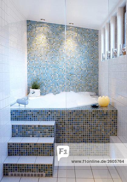 Innenarchitektur Badezimmer Innenaufnahme einer Wohnung