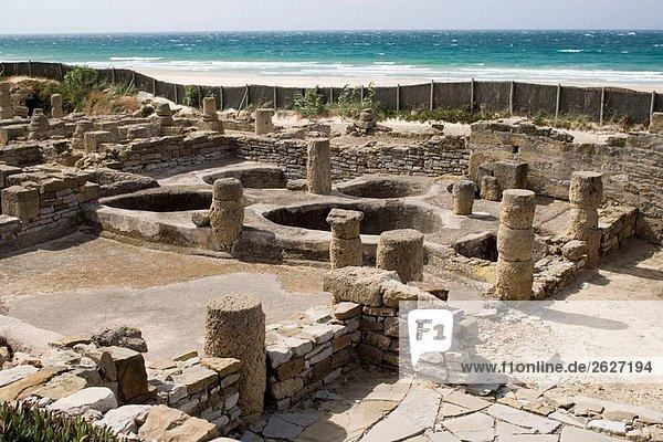 Ruins of old roman city of Baelo Claudia  Tarifa. Cadiz province  Andalucia  Spain