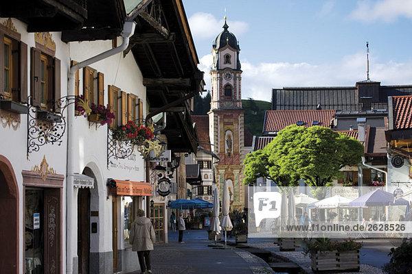 Deutschland  Bayern  Mittenwald  Stadtbild Deutschland, Bayern, Mittenwald, Stadtbild