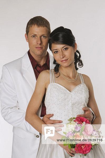 Braut und Bräutigam  Portrait