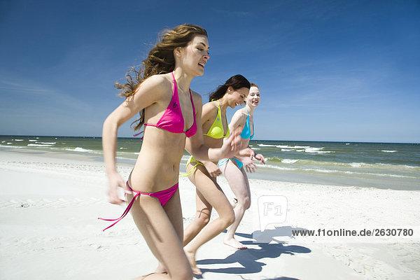 Freunde auf Strand