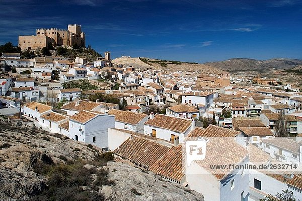 Castle of the Marquis of Velez  Velez-Blanco. Almeria province  Andalucia  Spain