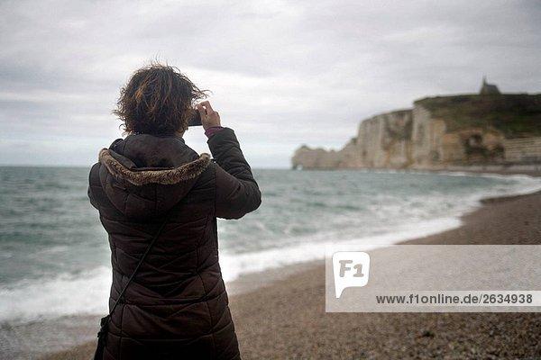 Etretat. Seine-Maritime  Normandie  Frankreich
