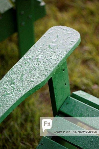 Stuhl dippen grün Regen Adirondack Stuhl