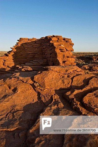 Ecke Ecken zeigen Einsamkeit Ruine bauen
