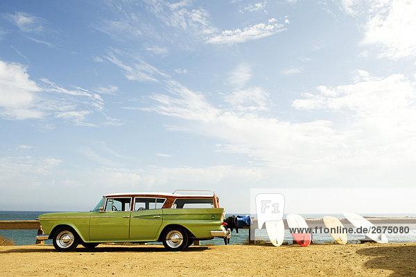 Strand Auto Surfboard Retro Malibu