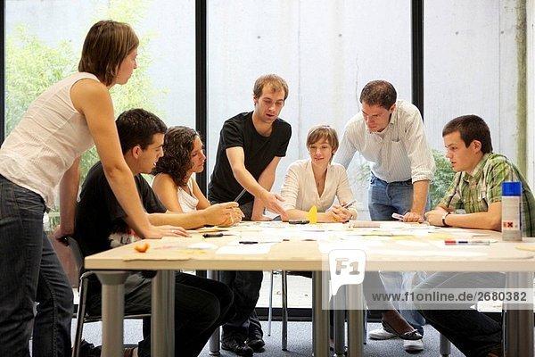 Innovation Schule  kreative treffen  Fatronik-Tecnalia  Forschung und Technologie-Zentrum  Donostia  Baskenland  Spanien