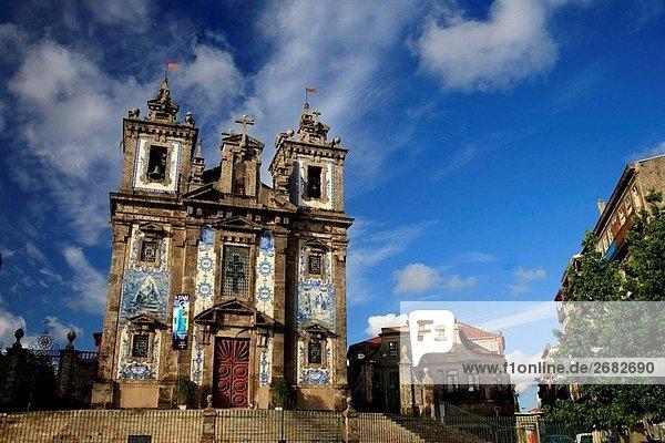 Sao Ildefonso Church  Porto Old Town UNESCO World Heritage  Portugal