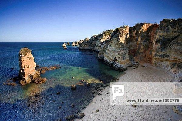 Praia da Dona Ana  Lagos  Algarve  Portugal