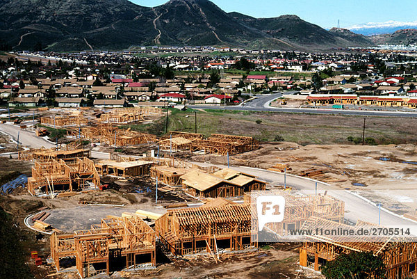 New construction in Southern California
