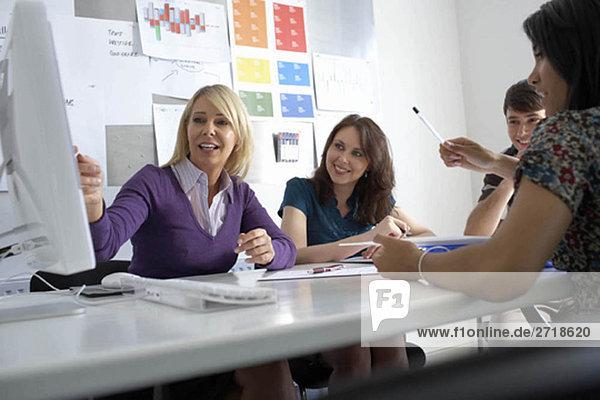 Büro-Meeting