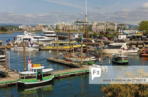 Inner Harbour  Victoria  Vancouver Island  Canada