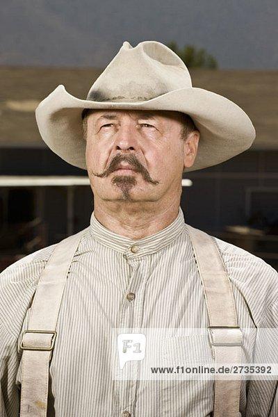 Porträt eines Cowboys Porträt eines Cowboys