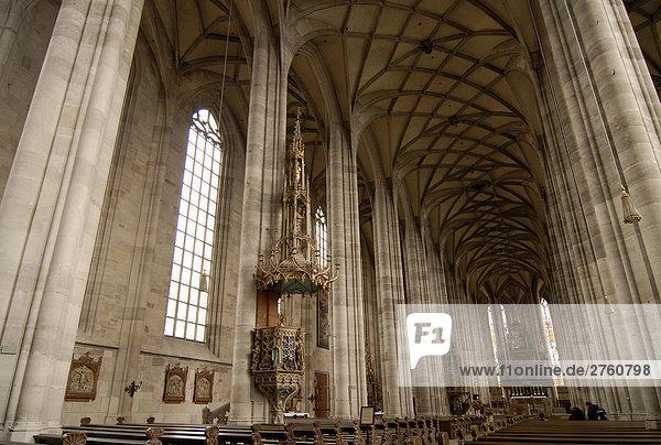 Deutschland  Bayern  Nordlingen  Innere der Kathedrale