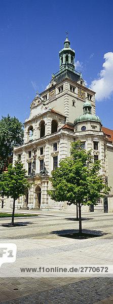 Bayerisches Nationalmuseum  München  Bayern  Deutschland