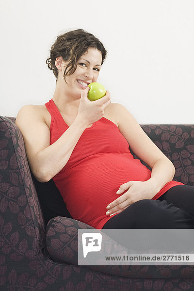 Interior  zu Hause  Schwangerschaft
